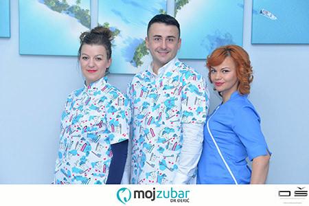 My dentist Dr. Đerić