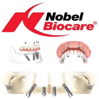 In Dental dental center - Nobel Biocare implant insertion