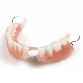 Partial dentures with a metal base framework - Dental Clinic Dr. Zoran Nemanić